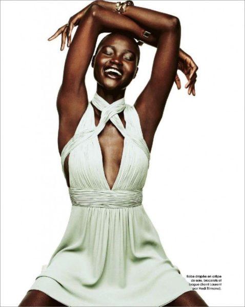 Ataui Deng for Marie Claire France Magazine January 2014 - BellaNaija - January2014001