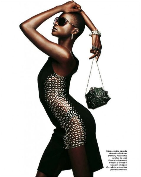 Ataui Deng for Marie Claire France Magazine January 2014 - BellaNaija - January2014010