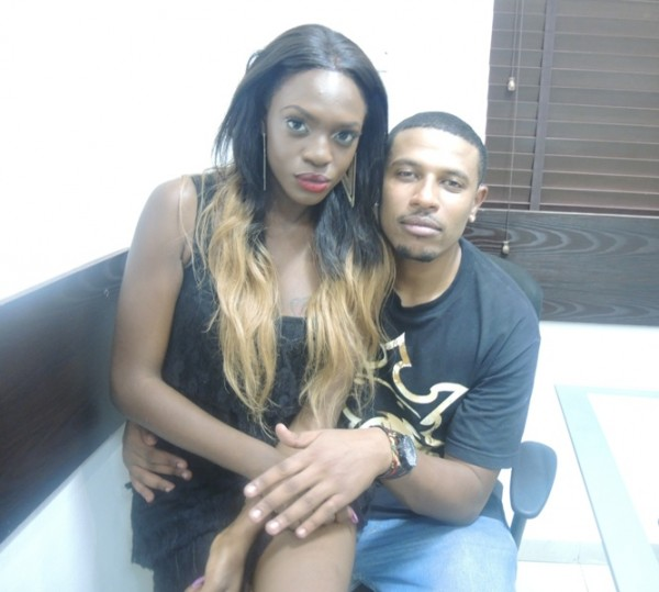 Beverly Osu & Bimp at the Hip Hop World Headquarters
