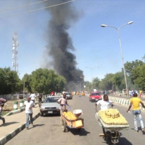 Bomb Explosion in Maiduguri - January 2014 - Bella Naija