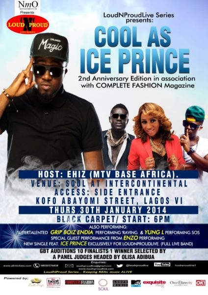 COOL AS ICE PRINCE ANNIVERSARY EDITION LNPL LRES