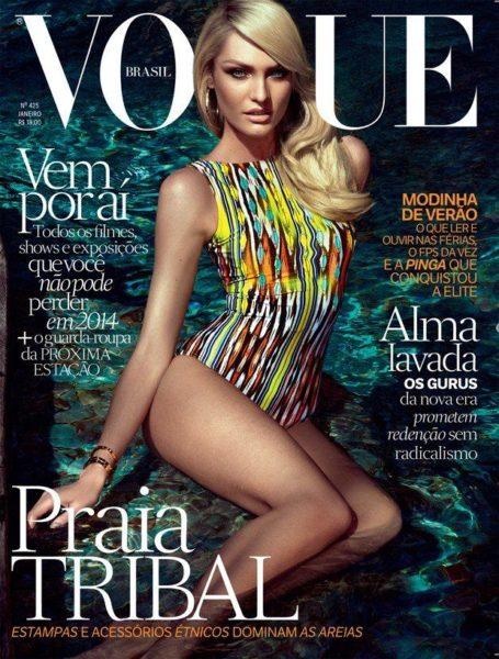 Candice Swanepoel for Vogue Brasil January 2014 - Bellanaija - January 2014003