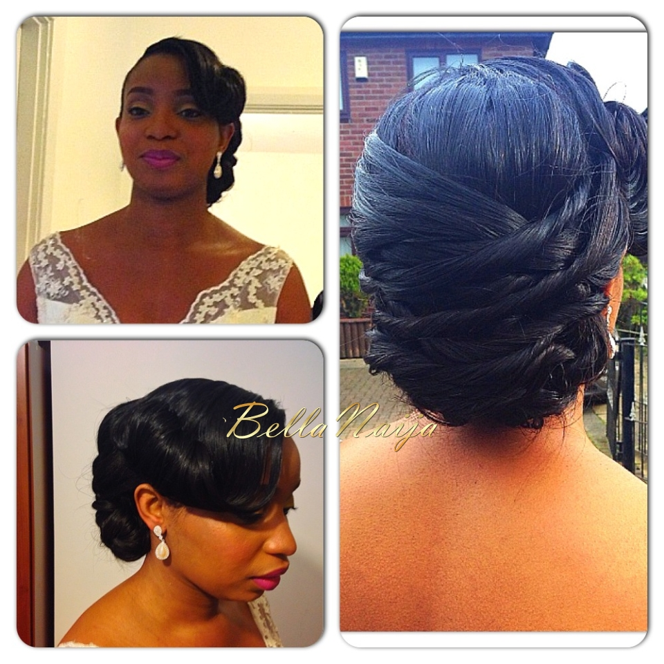 "Hairstyles For Weddings Bridesmaid African American: BN Bridal Beauty: ""Hair Is Art"" - Charis Hair"