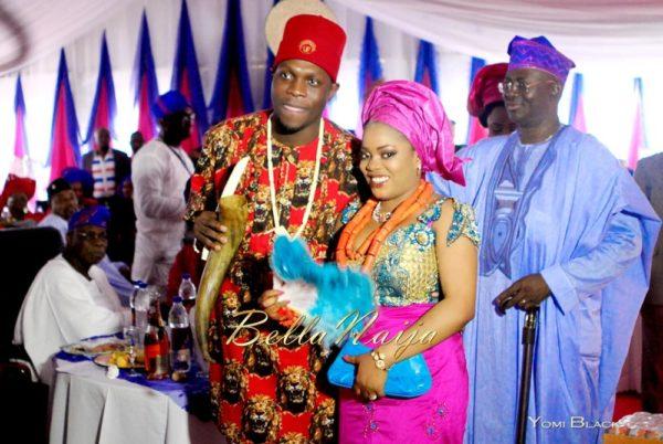 Chigozie & Bisoye Obasanjo Wedding, BellaNaija, Igbo, Yomi Black,PINKY & BISOYE (1 of 10)-11