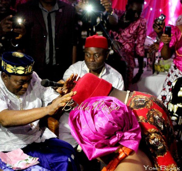 Chigozie & Bisoye Obasanjo Wedding, BellaNaija, Igbo, Yomi Black,PINKY & BISOYE (3 of 10)-11