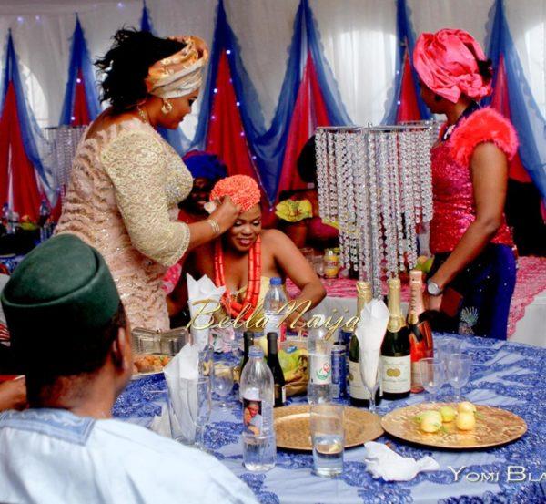 Chigozie & Bisoye Obasanjo Wedding, BellaNaija, Igbo, Yomi Black,PINKY & BISOYE (9 of 10)-5