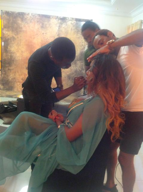 Chika Ike - January 2014 - Chika Ike's Calendar Shoot - BellaNaija 01 (4)