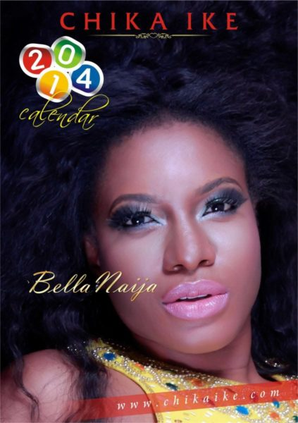 Chika Ike's 2014 Calendar - January 2014 - BellaNaija - 021
