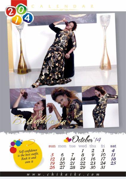 Chika Ike's 2014 Calendar - January 2014 - BellaNaija - 022