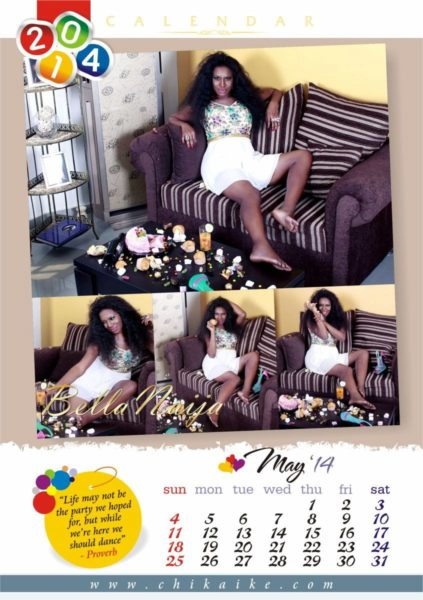 Chika Ike's 2014 Calendar - January 2014 - BellaNaija - 023