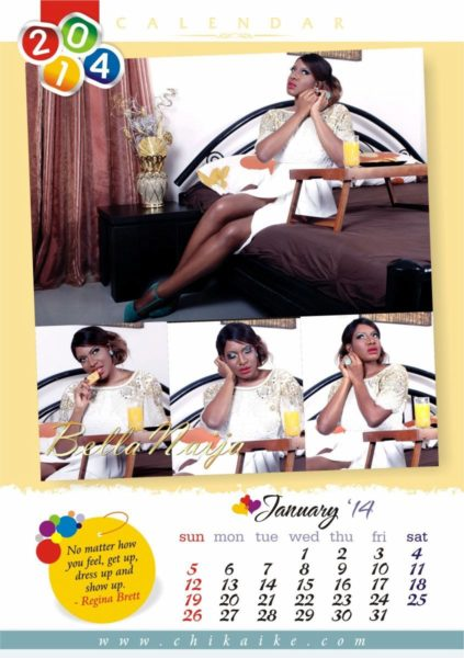 Chika Ike's 2014 Calendar - January 2014 - BellaNaija - 024