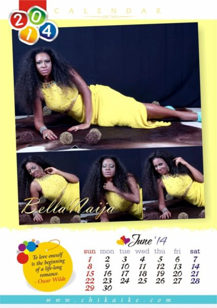 Chika Ike's 2014 Calendar - January 2014 - BellaNaija - 026