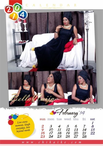 Chika Ike's 2014 Calendar - January 2014 - BellaNaija - 027