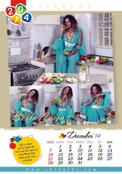 Chika Ike's 2014 Calendar - January 2014 - BellaNaija - 028