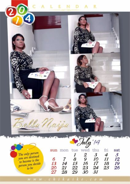 Chika Ike's 2014 Calendar - January 2014 - BellaNaija - 029