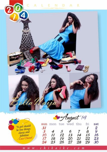 Chika Ike's 2014 Calendar - January 2014 - BellaNaija - 031
