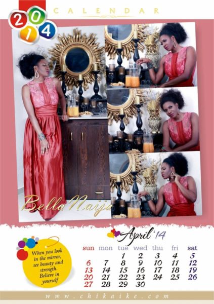 Chika Ike's 2014 Calendar - January 2014 - BellaNaija - 032