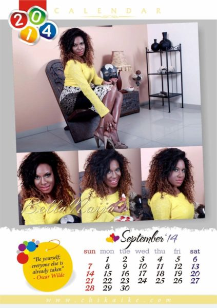 Chika Ike's 2014 Calendar - January 2014 - BellaNaija - 033