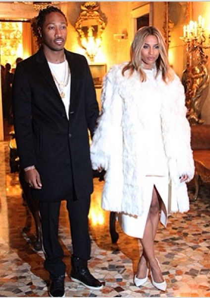 Ciara & Future - January 2014 - BellaNaija