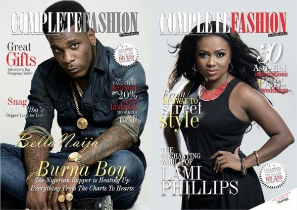 Complete Fashion Magazine - January 2014 - BellaNaija 01