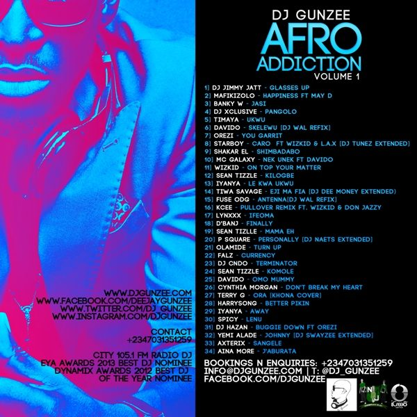 DJ Gunzee - Afro Addiction - January 2014 - BellaNaija (2)