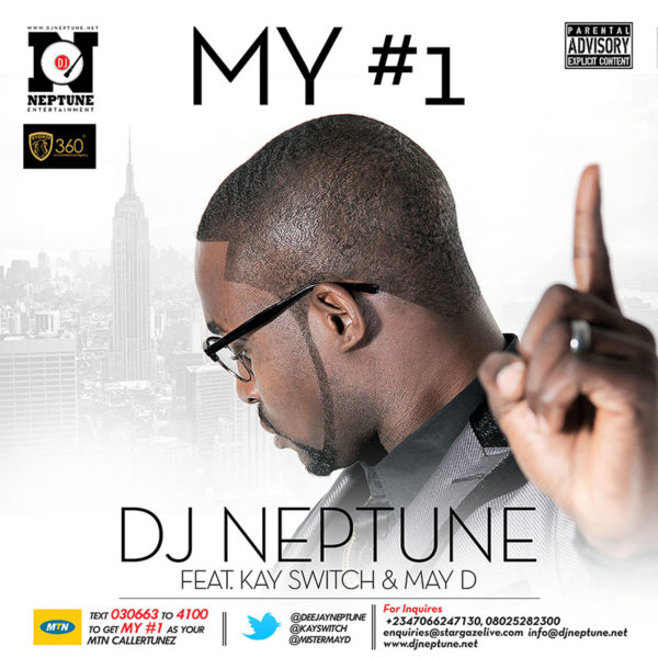 DJ Neptune My #1 flyer - January - 2014 - BellaNaija