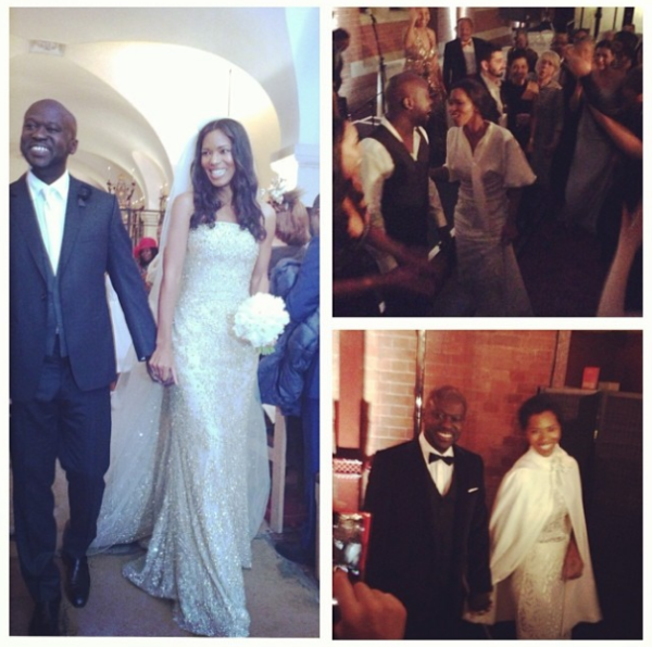 David Adjaye Ashley Shaw Scott Wed