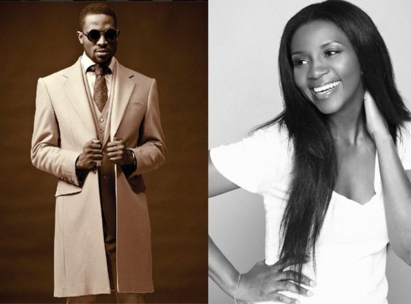 D'banj & Genevieve Nnaji are a Couple - January 2014 - BellaNaija