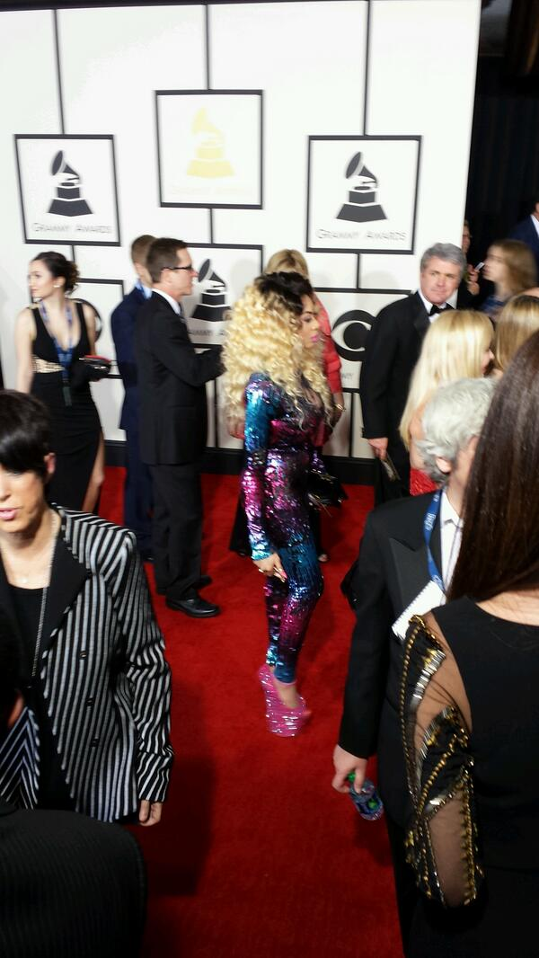 Dencia - 2014 Grammy Awards - January 2014 - BellaNaija 03