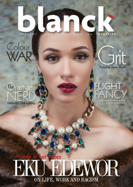 Eku Edewor - Blanck Magazine - January 2014 - BellaNaija 01
