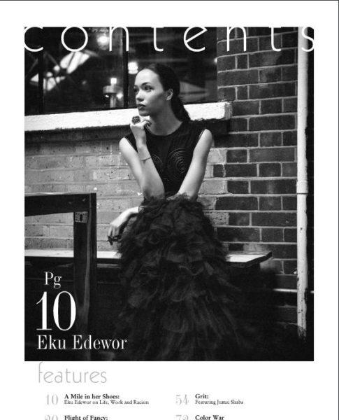 Eku Edewor - Blanck Magazine - January 2014 - BellaNaija 02