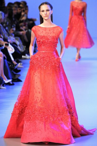 Elie Saab Spring Summer 2014 Collection - January 014