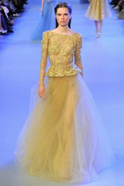 Elie Saab Spring Summer 2014 Collection - January 026