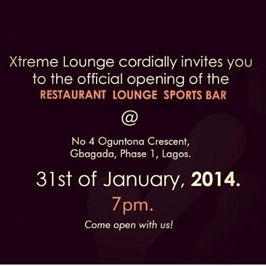 Extreme Lounge Restaurant & Sports bar Opening - BellaNaija - January 2014001