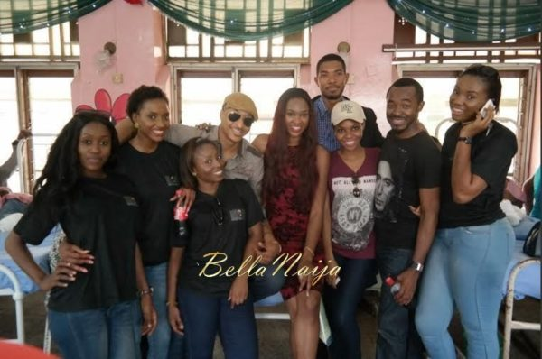 Ezinne Akudo celebrates Holidays at the National Orthopedic Hospital, Lagos - January 2014 - BellaNaija - 021