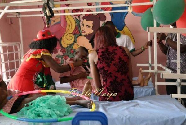 Ezinne Akudo celebrates Holidays at the National Orthopedic Hospital, Lagos - January 2014 - BellaNaija - 022