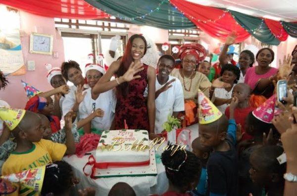 Ezinne Akudo celebrates Holidays at the National Orthopedic Hospital, Lagos - January 2014 - BellaNaija - 025