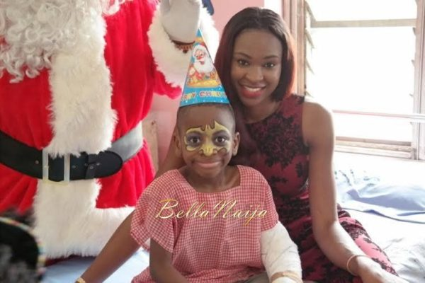 Ezinne Akudo celebrates Holidays at the National Orthopedic Hospital, Lagos - January 2014 - BellaNaija - 028
