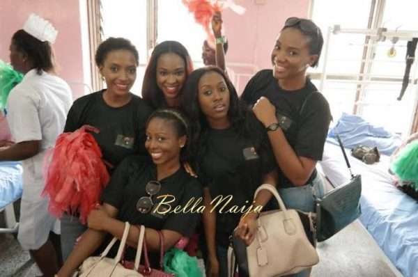 Ezinne Akudo celebrates Holidays at the National Orthopedic Hospital, Lagos - January 2014 - BellaNaija - 031