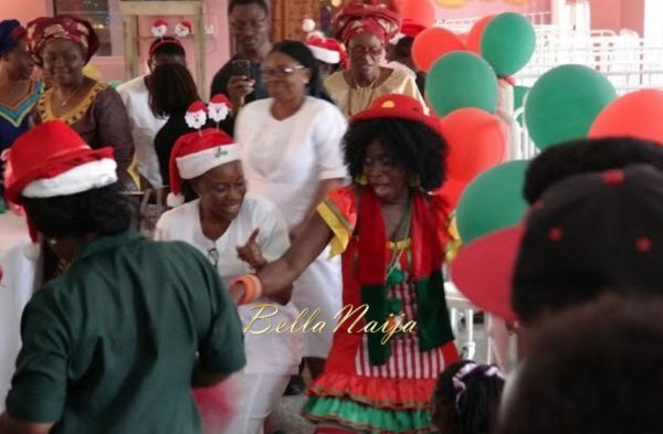 Ezinne Akudo celebrates Holidays at the National Orthopedic Hospital, Lagos - January 2014 - BellaNaija - 032