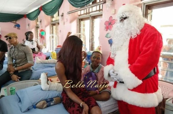 Ezinne Akudo celebrates Holidays at the National Orthopedic Hospital, Lagos - January 2014 - BellaNaija - 033