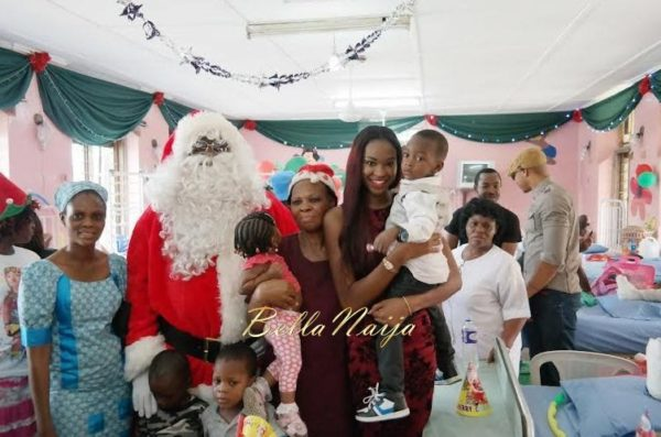 Ezinne Akudo celebrates Holidays at the National Orthopedic Hospital, Lagos - January 2014 - BellaNaija - 037
