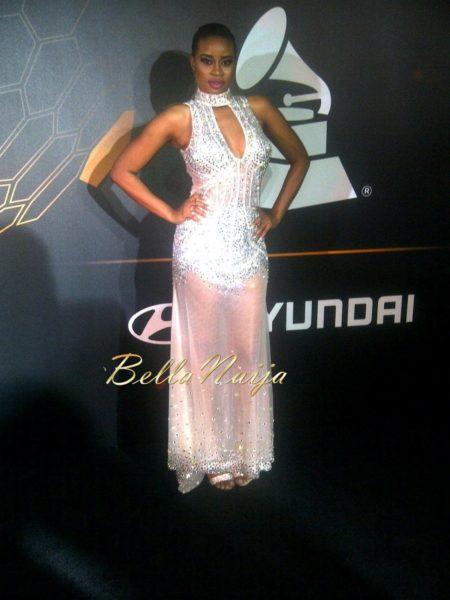 Gina at the 2014 Grammy Awards - January 2014 - BellaNaija 02