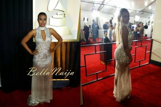 Gina at the 2014 Grammy Awards - January 2014 - BellaNaija 07
