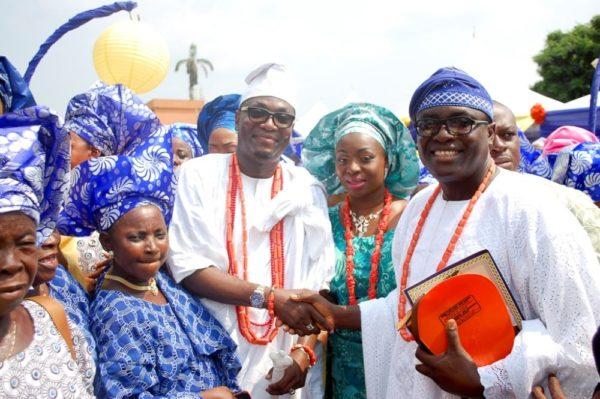 Honourable Dayo Bush Alebiosu given Otunba Title in Ijebuland - BellaNaija - January2014005