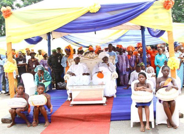 Honourable Dayo Bush Alebiosu given Otunba Title in Ijebuland - BellaNaija - January2014013