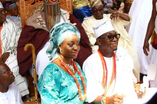 Honourable Dayo Bush Alebiosu given Otunba Title in Ijebuland - BellaNaija - January2014017
