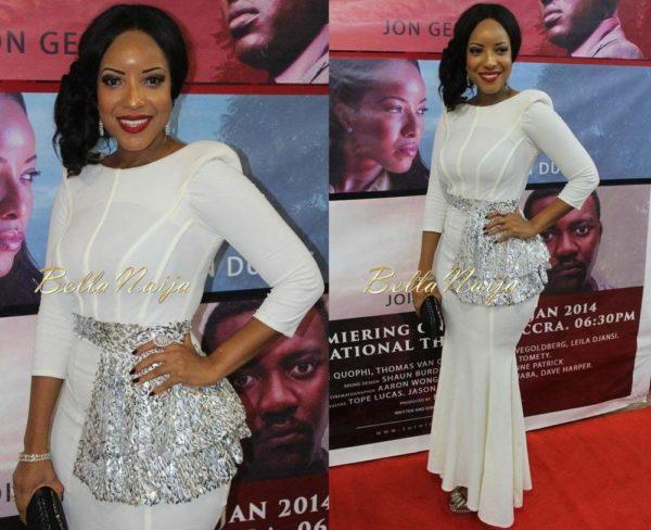 Joselyn Dumas - January 2014 - Northern Affair Ghana Premiere - BellaNaija