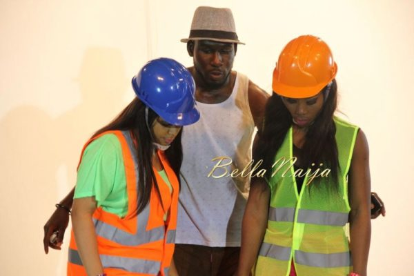Juliet Ibrahim's Traffic Jam Video Shoot- January 2014 - BellaNaija - 021
