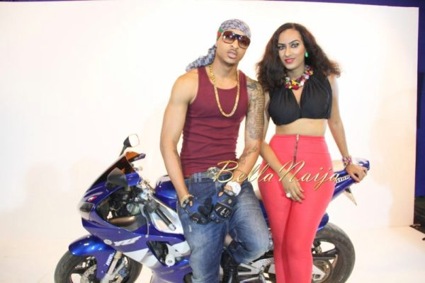 Juliet Ibrahim's Traffic Jam Video Shoot- January 2014 - BellaNaija - 022
